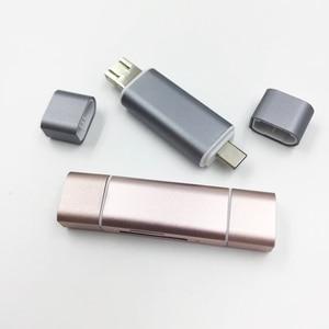 Image 5 - Baolyda نوع C قارئ بطاقات SD بطاقة 5in1 وتغ/USB C قارئ بطاقات مع USB 3.0 مايكرو SD TF نوع C قارئ البطاقات SD ل الهواتف المحمولة