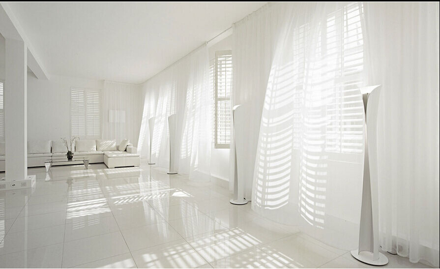 150cm270cm sheer white voile scarf curtain panel sets curtains extra wide long hot selling