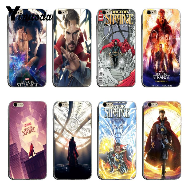 Half-wrapped Case Phone Bags & Cases Apprehensive Yinuoda Marvel Doctor Strange Cute Phone Accessories Case For Iphone 6 6s 6plus 7 7plus 8 8plus X Xs Xr Mobile Cover