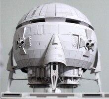 Aries 1B lunar spacecraft  3D High Simulation Space Paper Model Handmade Toy цена