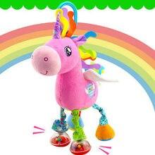 Милый Ребенок Игрушка Животных Колокольчики Музыкальные Развивающие Игрушки Кровать Колокола Детские Детские Мягкие Toys Rattle