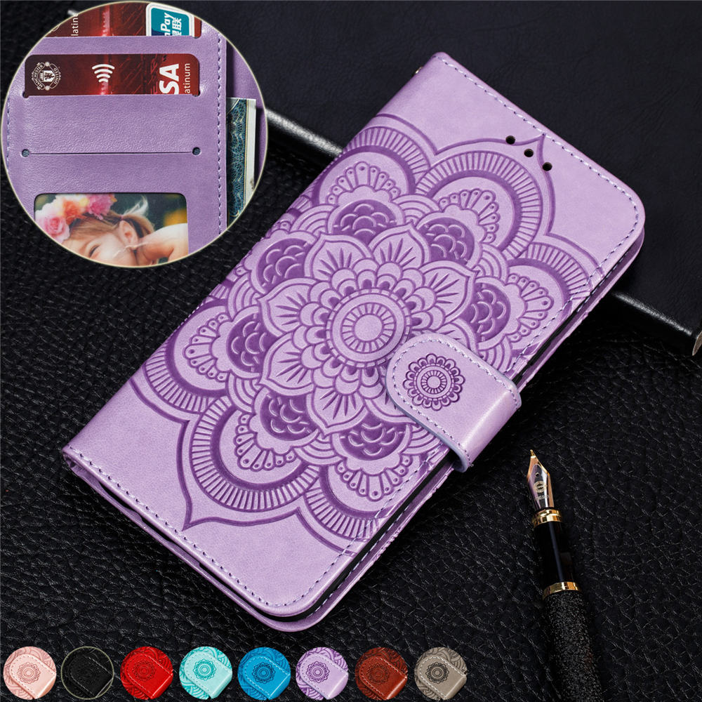 supreme case for iphone 7 8 plus sunflower Magnetic book Case For iphone 8 7 plus Luxury PU Leather Wallet Flip Stand Cover CASE