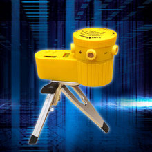 Jetery New Adjustable Plastic Multifunction Laser Level Leveler Tool with Tripod Useful Vertical Horizontal Line