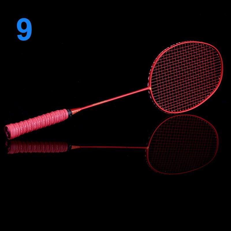 Ultralight 6U Badminton Racket Professional Carbon Portable Free Grips Sports C55K Sale