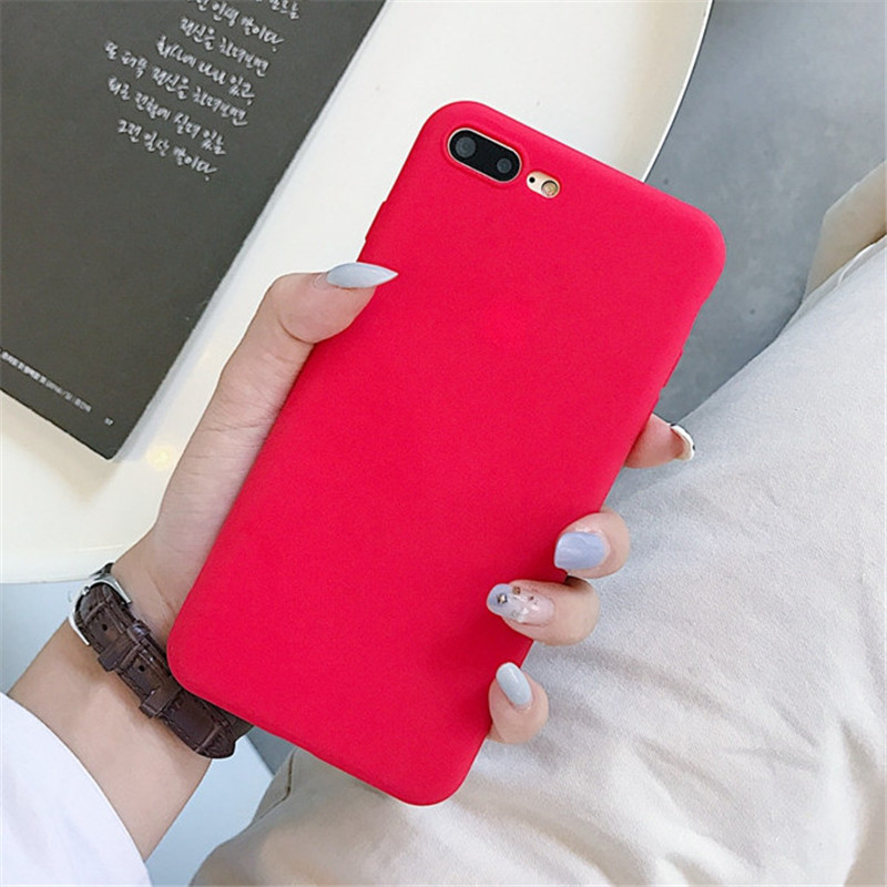 Image 5 - Matte Solid Color Cover Phone Case For Samsung Galaxy A10 A30 A40 A60 A70 M10 M20 M30 S8 S9 S10 Plus Lite Note 9 Soft Back Funda-in Fitted Cases from Cellphones & Telecommunications