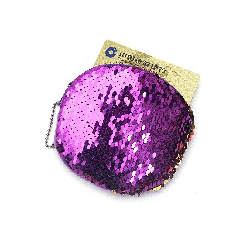 XYDYY Nya Dubbelfärg Sequin Coin Purses Mermaid Paillette Coin - Plånböcker - Foto 3