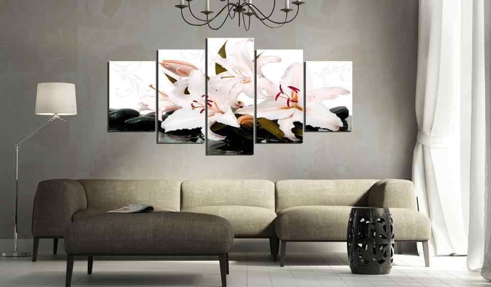 5 pieces/set Classic floral poster Picture Print Painting On Canvas Wall Art Home Decor Living Room Canvas Art PJMT-B (247)