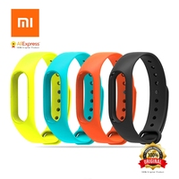 Wrist Strap For Xiaomi Mi Band 2 Original Silicon Replacement Wrist Strap Belt Bracelet For Xiaomi