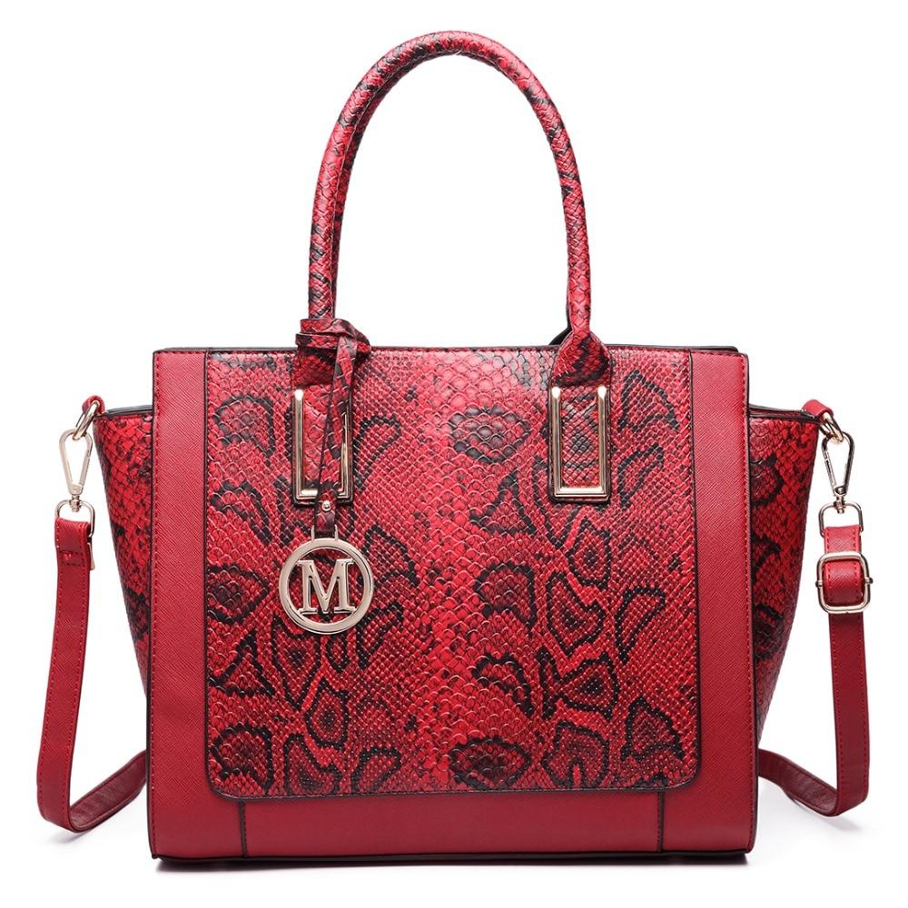 Gorgeous Snake Skin Print Bag Quality Over Quantity Price