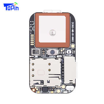 Topin ZX303 GPS Tracker Module GSM GPS Wifi LBS Locator Voice Monitor Recorder Web APP Tracking TF Card 10pcs/lot without Cable - DISCOUNT ITEM  5% OFF All Category