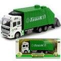 Высокое качество сплава коуниверсален санитарии транспортного средства спринклерный автоцистерна чистый автомобиль модель игрушечную машинку игрушки для мальчиков детей детей мусора