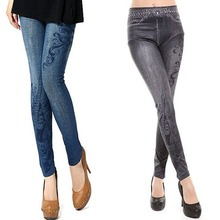 Jeans Women's Vintage High Waist Tights Pants Trouser Stretch Skinny Leggings Jeggings New