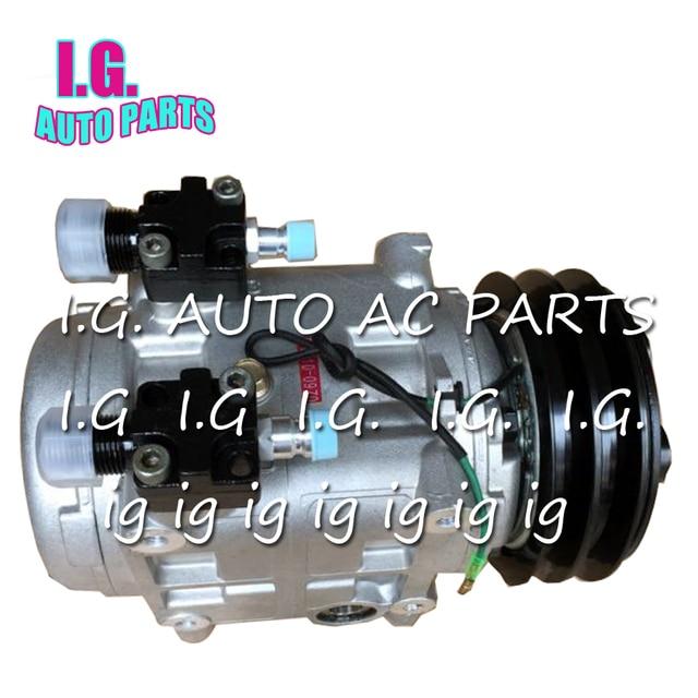 High Quality TM31 AC Compressor 24V 10046520 488-46520 Air Conditioner Compressor 2Grooves