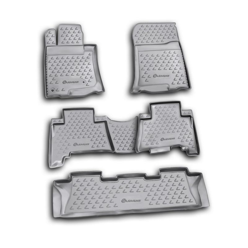 цена на Carpet mats interior For LEXUS GX460 02/2010->, 5 PCs (polyurethane)