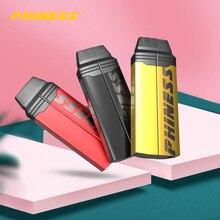 Комплект Phiness Shaka с аккумулятором емкостью 950 мА · ч, мод, электронная сигарета 1,5 мл, картридж Pod VS Uwell Caliburn