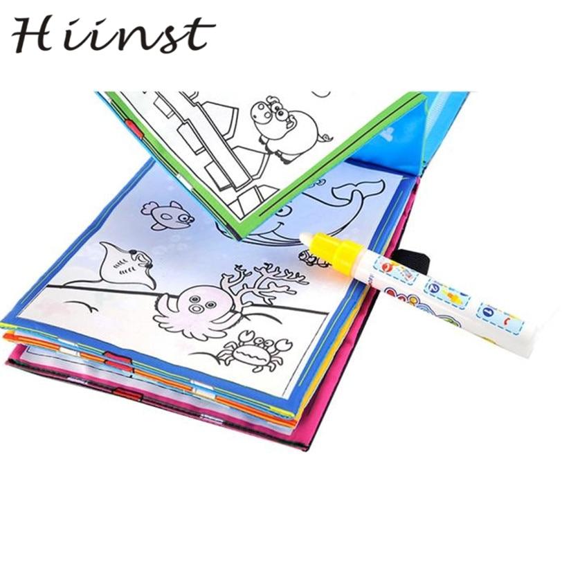HIINST Magie Wasser Zeichnung Buch Malbuch Doodle Magic Pen Tiere Malerei MAR29 P30 drop shipping