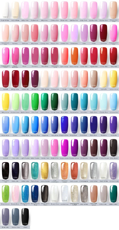 VENALISA Super Farbe Gel Farben Kristall Lack CANNI Nail art Glitter ...