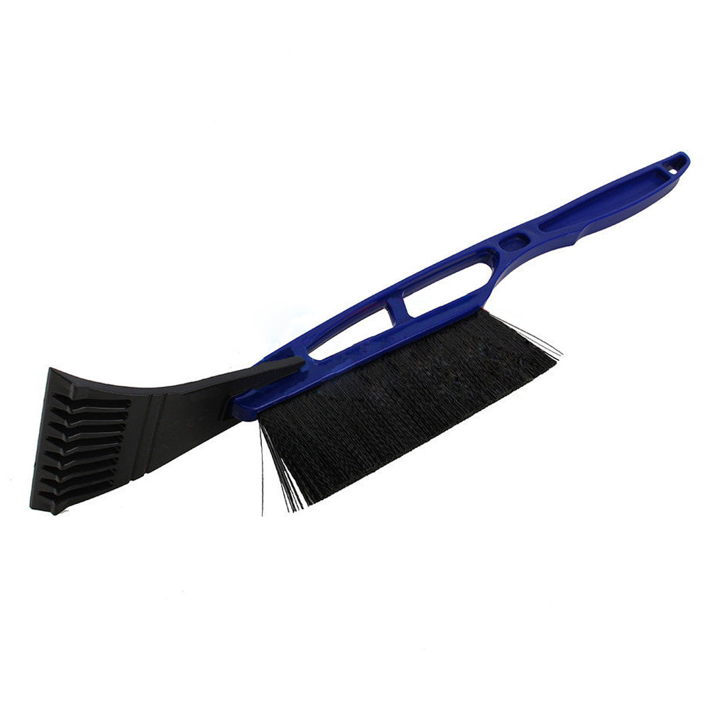 Useful Car Snow Ice Scraper Shovel Snow Brush Removal Cleaning Tool for All Vehicle Blue