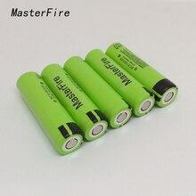MasterFire 8pcs/lot 100% Original 18650 NCR18650B 3.7V 3400mAh Rechargeable Lithium Batteries For Panasonic Flashlight Battery цена и фото