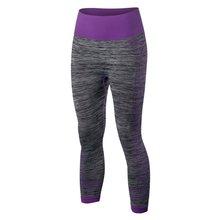 2017 de Las Mujeres de Secado rápido Pantalones Elásticos de Fitness Entrenamiento Leggings Pantalones Capris Ropa Deportiva femme