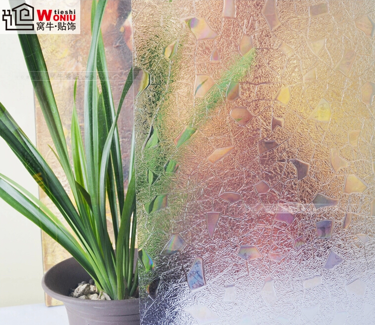stone shape sunscreen glass film window stickers bathroom without glue Vinyl colorful decals proof grilles paper 45*100cm no glue electrostatic glass film frosted bathroom bathroom window stickers translucent opaque window stickers 113