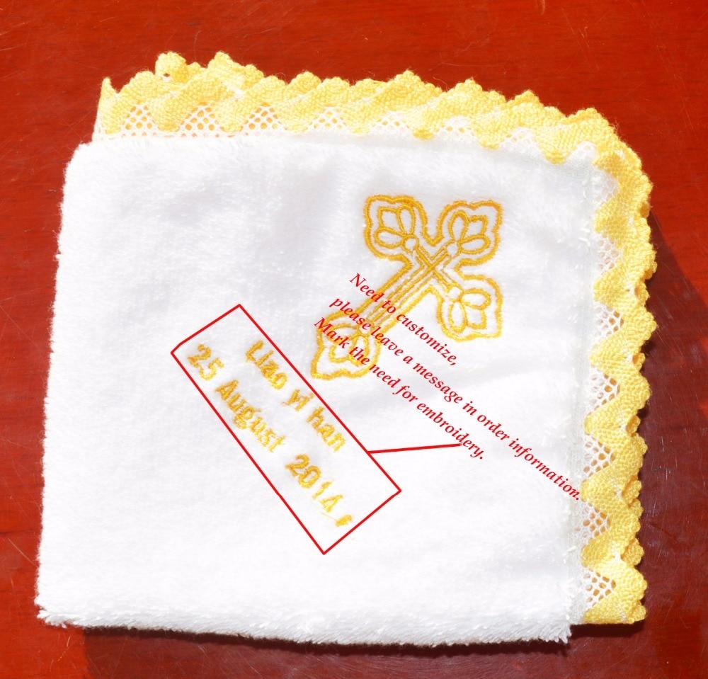 Baby Face törölköző mosogató kendő zsebkendők csecsemő etetés nyál törülköző keresztelés takaró személyre szabott keresztség Testreszabott törülköző