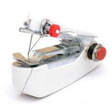 Hot Selling Useful Portable Manual Needlework Cordless Mini Hand-Held Clothes Fabrics Sewing Machine