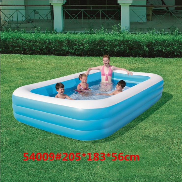 piscine gonflable rectangulaire adulte
