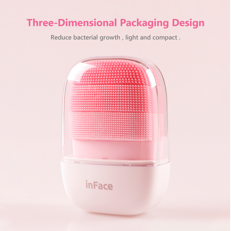 Image 5 - InFace Sonic Clean Electric Deep Facial Cleaning Massage Brush Special for MenPowered Facial Cleansing Devices   -