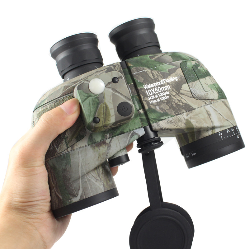 HSEAYM 10X50 Binoculars Telescope Waterproof fogproof With Rangefinder Compass Reticle Illuminant Scope Low light Night VisionHSEAYM 10X50 Binoculars Telescope Waterproof fogproof With Rangefinder Compass Reticle Illuminant Scope Low light Night Vision