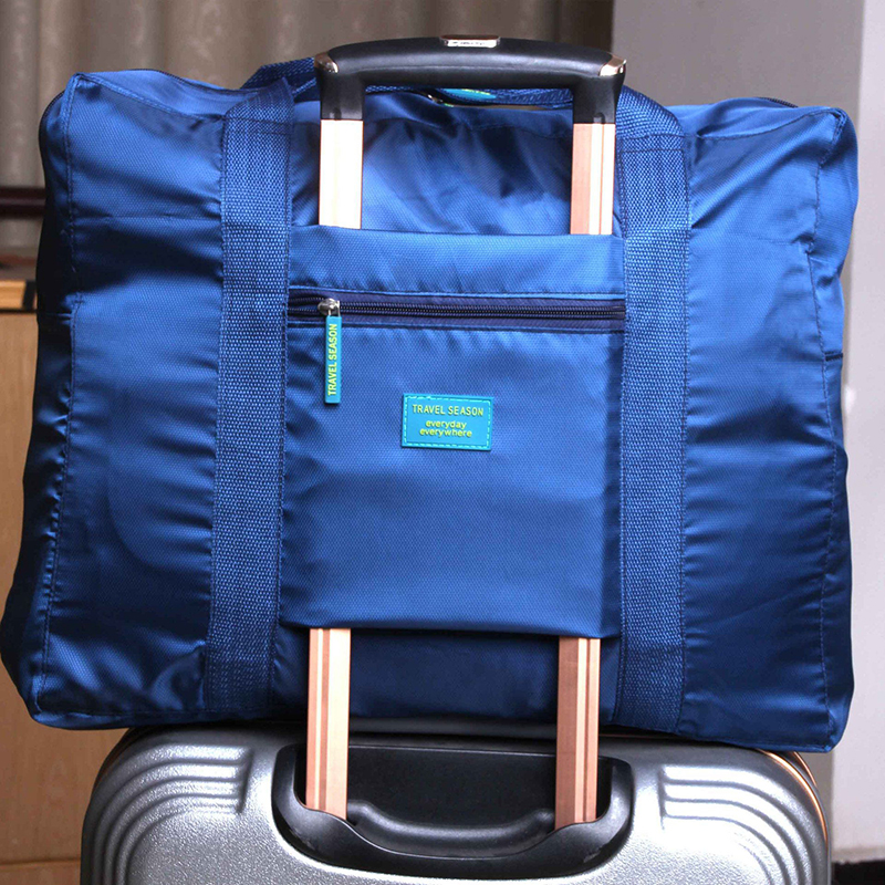 2018 New Arrival Folding Travel Bag Large Capacity Waterproof Printing Bags Portable Womens Tote Bag Travel Duffle Bags Women