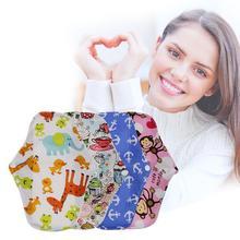 5pcs/lot Feminine Hygiene Sanitary Pad Reusable Washable Cotton Bamboo Cloth Menstrual breathable leakproof Sanitary Pads U4