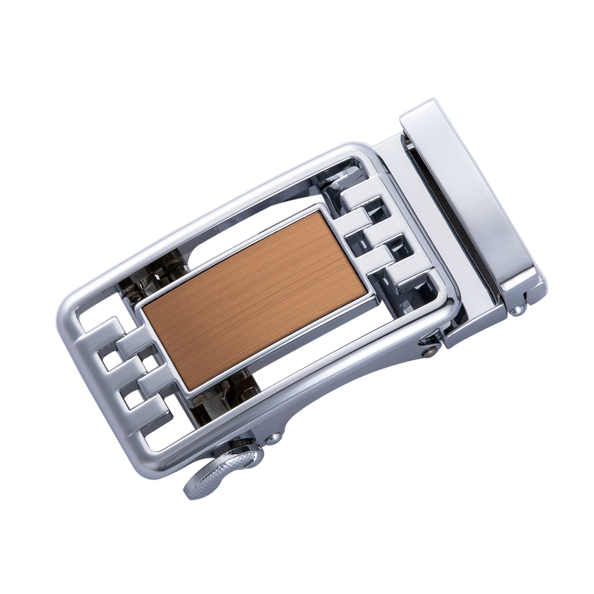 Hi-Tie Designer Brand Automatic Buckle High Quliaty And Alloy Metal Only Buckle DK-1005