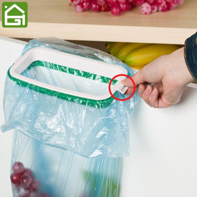 Hängen Küchenschrank Tür Zurück Haken Stehen Schrank Mülleimer ...
