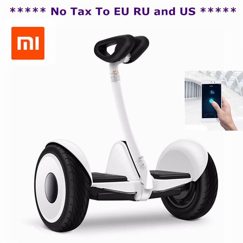 Оригинальный xiaomi mini ninebot умный самобалансирующийся скутер электрический 2 двухколесный скейтборд Ховерборд 10 дюймов Ховерборд - 3