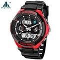 Новая Мода Часы Мужские Спортивные Часы alike Цифровой Аналоговый Многофункциональный Сигнализации Военные Часы Relogio Masculino