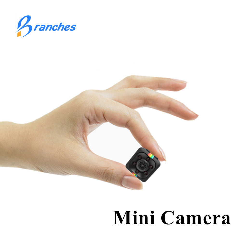 Multifonction SQ11 Mini Caméra HD 1080 P Caméscope de Vision Nocturne Mini caméra Aérienne Sport Mini DV Voix Vidéo Enregistreur PK SQ 11