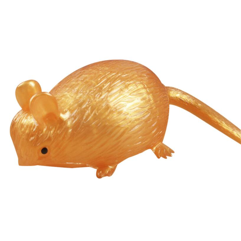 Mooistar #4066D Creative Mouse Squeeze Healing Fun Kids Kawaii Toy Stress Reliever Decor