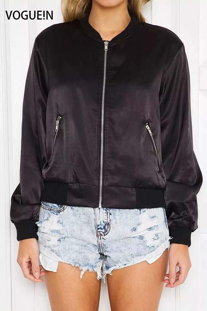 VOGUE! N Nueva Moda Sólido Satén Relampaga Para Arriba Cartuchos Negro/de Color