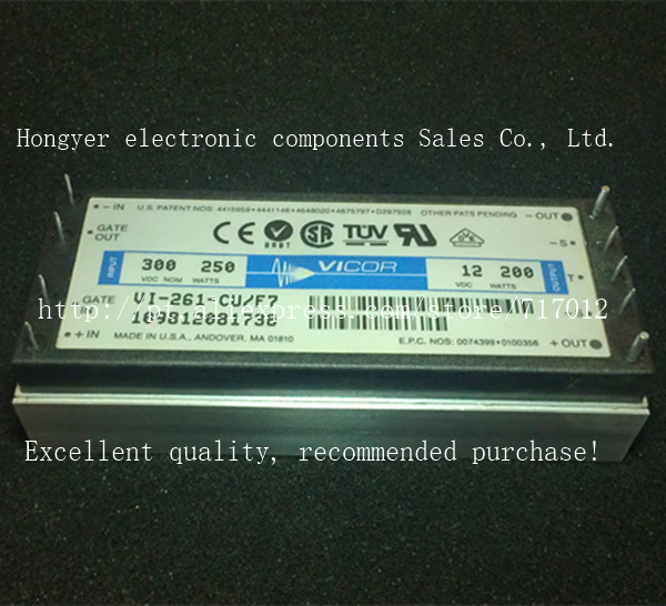 Free Shipping VI-261-CU/F7  DC/DC: 300V-12V-200W power supply voltage reduction module,Can directly buy or contact the seller new in stock vi 261 cu 07
