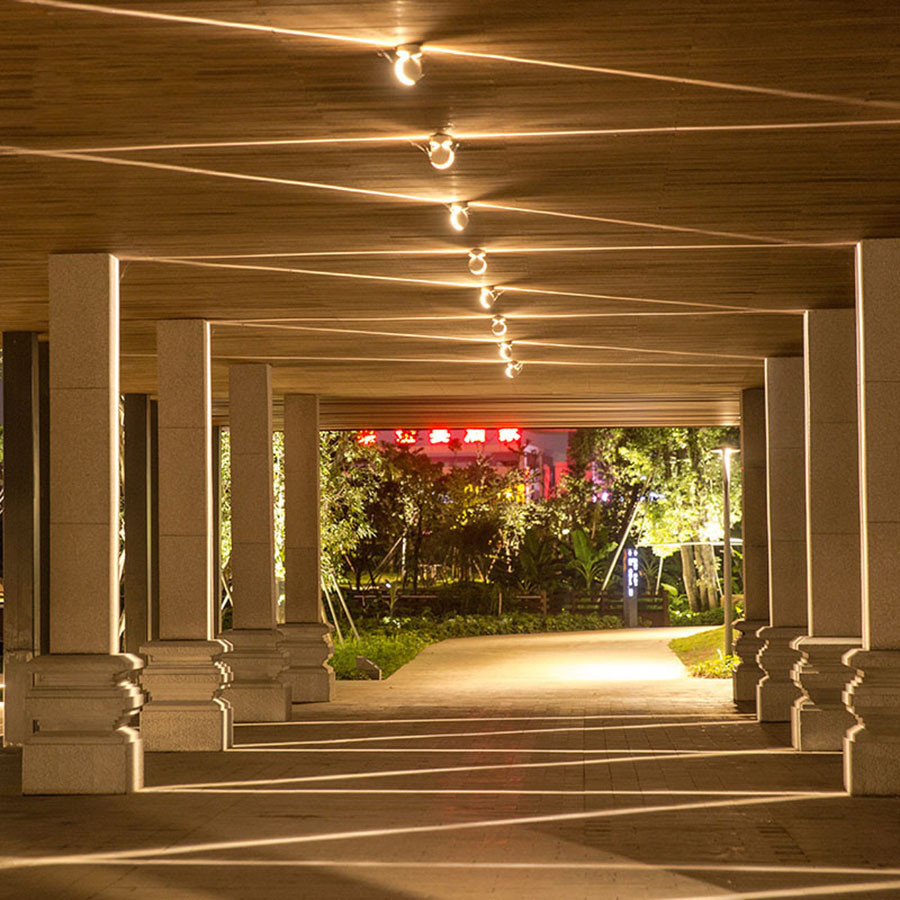 Thrisdar LED Window sill Door Frame lamp Wall Spot lights Hotel KTV Bar Corridor LED Wall Lamps 360 Degree line ray Window Lamps