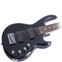 Minsine Chinese variety Electric Bass Guitar 5 String Rosewood Basswood Passive closed pickup High quality