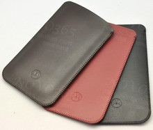 For Motorola Moto X Style Best Quality Microfiber Leather Sleeve Pouch Phone Bag Holster Case Cover