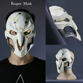 2016 new Game Cosplay Costume Reaper Mask overwatch Cosplay Accessories PVC Fine mask