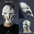 2016 new game cosplay máscara reaper overwatch cosplay accesorios máscara de pvc fino