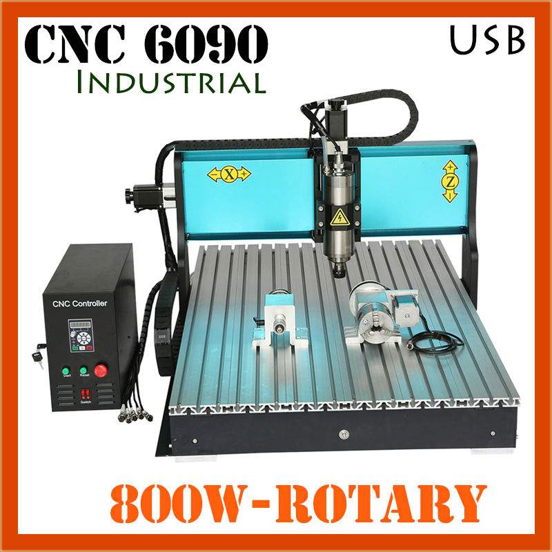 Ipari 6090 CNC útválasztó formázó fa dizájn faragó - Famegmunkáló berendezések - Fénykép 2