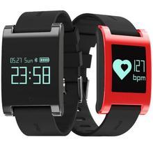 DM68 Водонепроницаемый смарт-браслет Фитнес трекер сердечного ритма Приборы для измерения артериального давления часы умный Браслет Смарт-браслет для IOS телефона Android