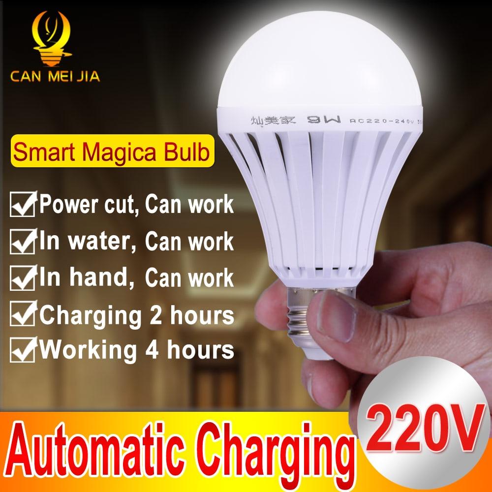 Magical E27 LED Lamps 5W 7W 9W 12W B22 Es
