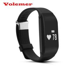 Оригинал H3 Монитор Сердечного ритма Bluetooth V4.0 Смарт Браслет Браслет Браслет Вызова Напоминание Сигнализации Часы для Android и ios телефон