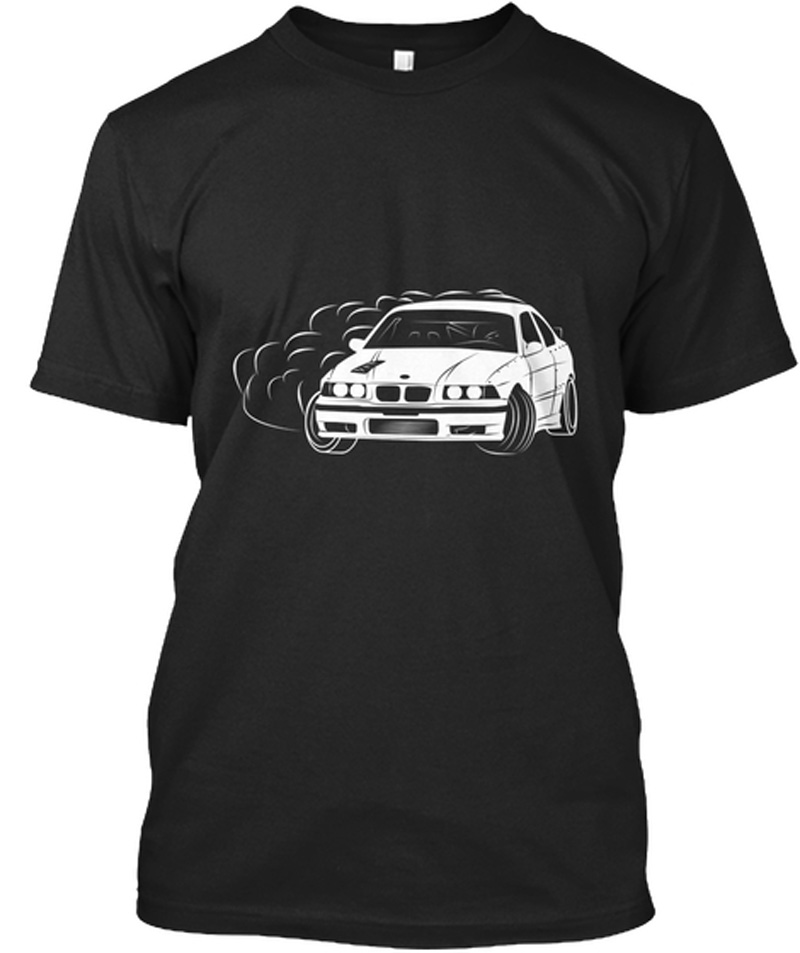 Mens Plus Size T-shirt O-Neck Personality Classic E36 Drift Cars T Shirt for Men Design Mens T Shirts Mens T Shirt